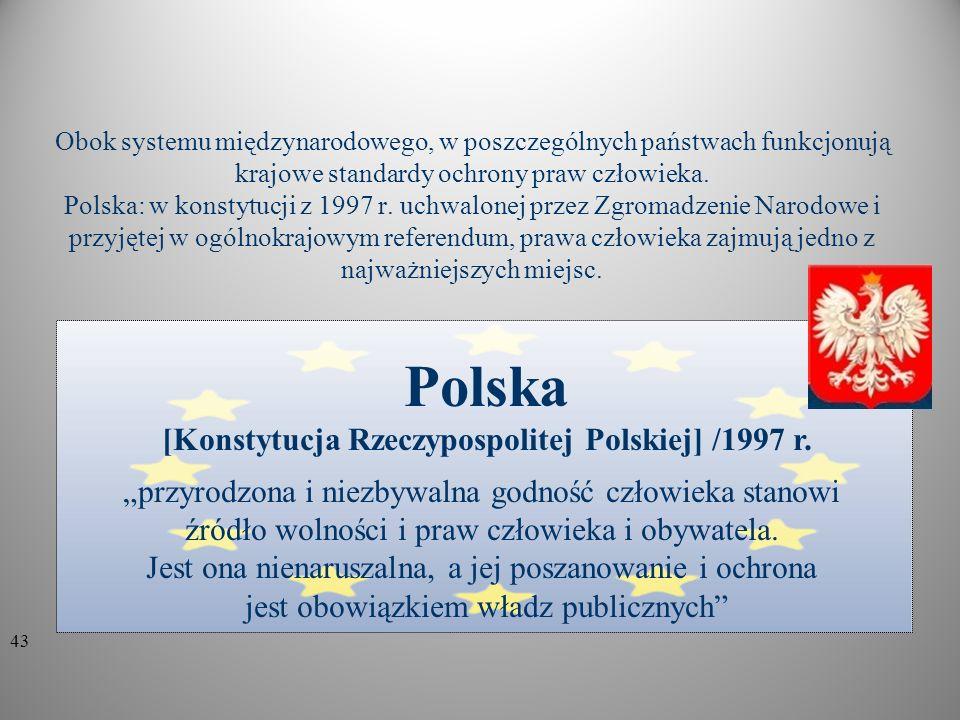 [Konstytucja Rzeczypospolitej Polskiej] /1997 r.